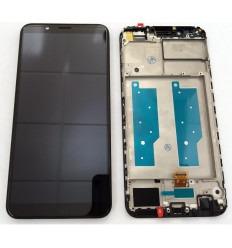 HUAWEI HONOR 7C ENJOY 8 PANTALLA LCD + TACTIL NEGRO + MARCO ORIGINAL