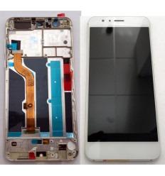 HUAWEI HONOR 8 PANTALLA LCD + TACTIL BLANCO + MARCO ORIGINAL