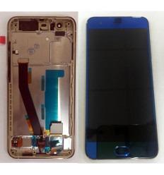 XIAOMI MI 6 PANTALLA LCD + TACTIL AZUL + MARCO DORADO ORIGINAL