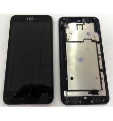 ASUS ZENFONE SELFIE ZD551KL PANTALLA LCD + TACTIL NEGRO + MARCO ORIGINAL