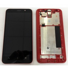 Asus Zenfone 2 ZE551ML original display lcd with black touch screen with red frame