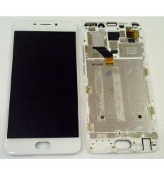 MEIZU MEILAN NOTE 6 PANTALLA LCD + TACTIL BLANCO + MARCO ORIGINAL