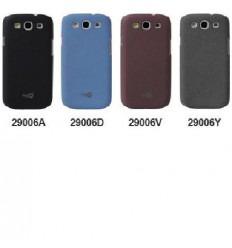 Samsung Galaxy S3 i9300 protector efecto arena negro 29006A