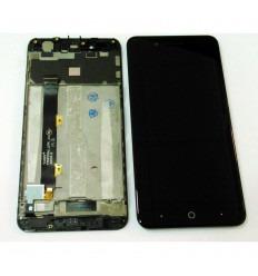 ZTE BLADE A612 PANTALLA LCD + TACTIL NEGRO + MARCO ORIGINAL