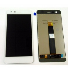Nokia 2 original display lcd with white touch screen