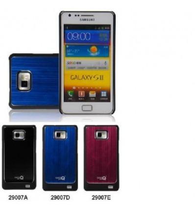 Samsung Galaxy SII i9100 Brushed black Metal Case
