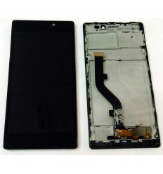 LENOVO VIBE X2 X2-T0 PANTALLA LCD + TACTIL NEGRO + MARCO ORIGINAL