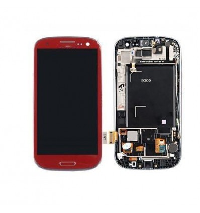 Samsung Galaxy s3 i9300 original red touch screen with lcd
