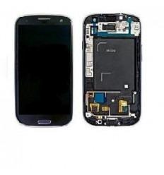 Samsung Galaxy s3 i9300 táctil+lcd+marco gris original