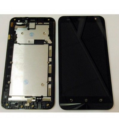 ASUS ZENFONE 2 LASER ZE551KL PANTALLA LCD TACTIL NEGRO MARCO ORIGINAL