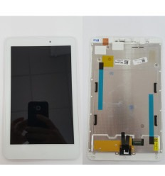 Acer Iconia One 8 B1-810 original display lcd with white touch screen with frame