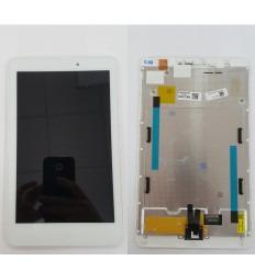 Acer Iconia One 8 B1-810 pantalla lcd + tactil blanco + marco original
