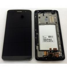 LG RAY X190 ZONE X180 PANTLLA LCD + TACTIL NEGRO + MARCO ORIGINAL