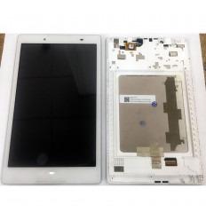 LENOVO IDEATAB 2 A8 50F A8-50F PANTALLA LCD + TACTIL BLANCO + MARCO ORIGINAL