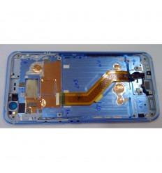 HTC U11 PANTALLA LCD + TACTIL NEGRO + MARCO ORIGINAL