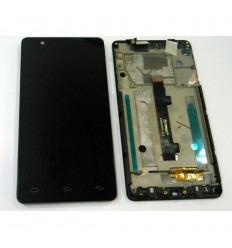 BQ E5 FULL HD FHD PANTALLA LCD + TÁCTIL NEGRO + MARCO ORIGINAL IPS5K0760FPC-A1-E