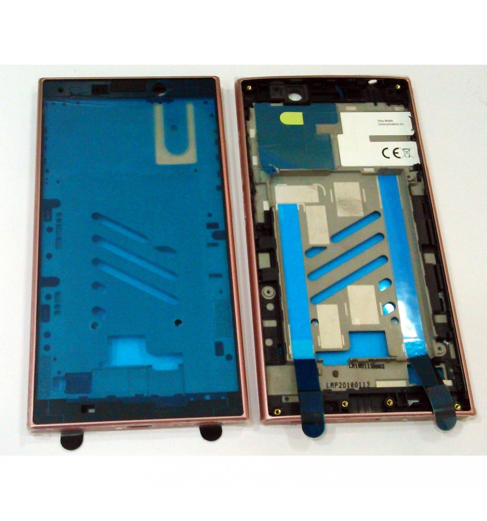 Sony Xperia L2 H3311 carcasa central o marco rosa original
