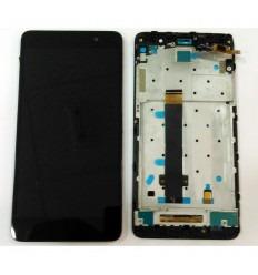 XIAOMI REDMI NOTE 3 PRO (VERSION EUROPEA) PANTALLA LCD + TACTIL NEGRO + MARCO ORIGINAL