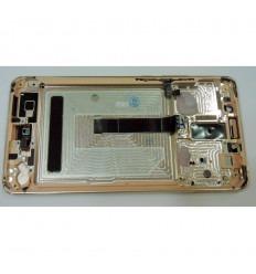 HUAWEI ASCEND MATE 10 PANTALLA LCD + TACTIL ROSA + MARCO ORIGINAL