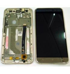 ASUS ZENFONE 3 ZE520KL PANTALLA LCD + TACTIL DORADO + MARCO ORIGINAL