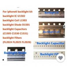 IPhone 6 set 5 piezas reparacion backlight original