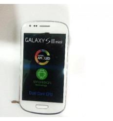 Samsung Galaxy I8190 S3 Mini Blanco lcd+táctil + marco front