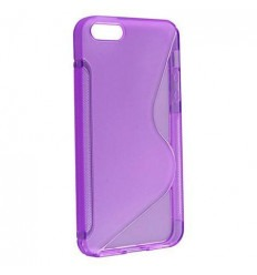 IPE003 Back case S-LINE - iPhone 4G/4S purple