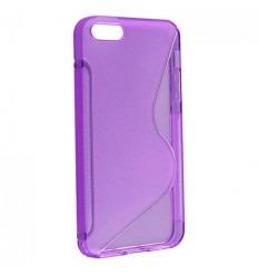 IPE003 Back case S-LINE - iPhone 4G/4S violeta