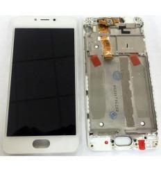 MEIZU MEILAN 5C PANTALLA LCD + TACTIL BLANCO + MARCO ORIGINAL