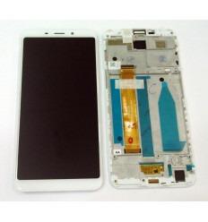 MEIZU MEILAN 6S M6S PANTALLA LCD + TACTIL BLANCO + MARCO ORIGINAL