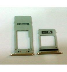 SAMSUNG GALAXY A8 2018 A530 SOPORTE SIM ROSA ORIGINAL
