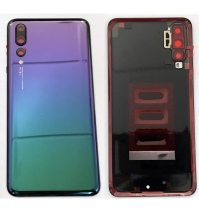 new arrival a684f 1e8a5 Huawei P20 Pro auroral back case with camera lens
