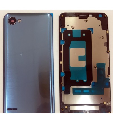 f1371078b LG Q6 Plus Q6+ central housing or frame with blue back case