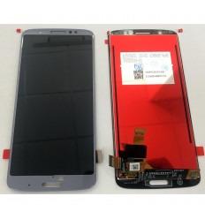 MOTOROLA MOTO G6 PLUS PANTALLA LCD + TACTIL AZUL ORIGINAL