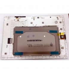 LENOVO A10-30 TAB2-X30F TB2-X30F PANTALLA LCD + TACTIL BLANCO + MARCO ORIGINAL