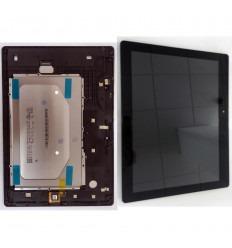 LENOVO A10-30 TAB2-X30F TB2-X30F PANTALLA LCD + TACTIL NEGRO + MARCO ORIGINAL