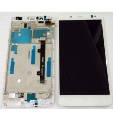 BQ AQUARIS V PLUS TFT5K2319FPC-A2-E TFT5K2475FPC-A1-E PANTALLA LCD + TACTIL BLANCO + MARCO ORIGINAL