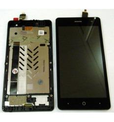 ZTE BLADE L7 PANTALLA LCD + TACTIL NEGRO + MARCO ORIGINAL