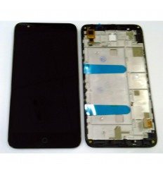 ALCATEL ONE POP 4+ OT-5056 5056D PANTALLA LCD + TACTIL NEGRO + MARCO ORIGINAL