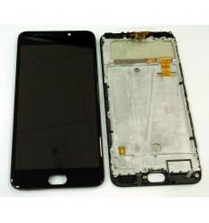 LEAGOO M7 PANTALLA LCD + TACTIL NEGRO + MARCO ORIGINAL