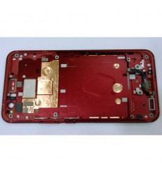 HTC U11 CARCASA CENTRAL O MARCO ROJO ORIGINAL