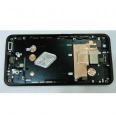 HTC U11 CARCASA CENTRAL O MARCO NEGRO ORIGINAL