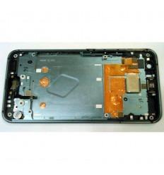 HTC U11 CARCASA CENTRAL O MARCO GRIS ORIGINAL