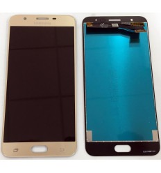 Samsung Galaxy j7 Prime G610 original display lcd with gold touch screen