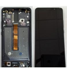 HUAWEI MATE 10 PRO PANTALLA LCD + TACTIL NEGRO + MARCO GRIS ORIGINAL