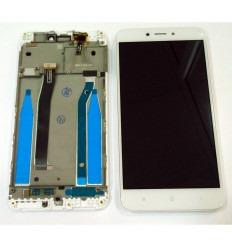 XIAOMI REDMI 4X PANTALLA LCD + TACTIL BLANCO + MARCO ORIGINAL