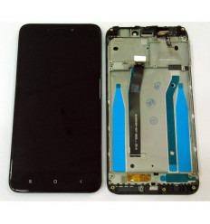 XIAOMI REDMI 4X PANTALLA LCD + TACTIL NEGRO + MARCO ORIGINAL