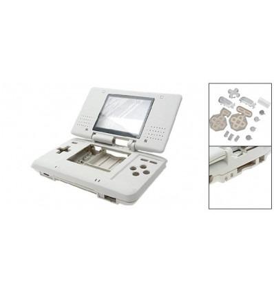 Carcasa repuesto para Nintendo DS Blanca