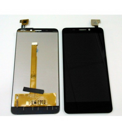 quality design 3fed6 3cbc8 Alcatel Idol S ot6034 ot-6034R original black display lcd with touch screen