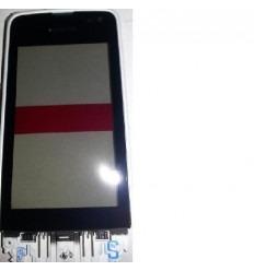 Nokia Asha 311 pantalla táctil blanca original
